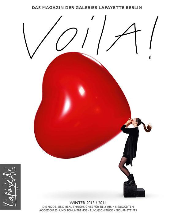 VOILA! Das Kundenmagazin der Galeries Lafayette Berlin
