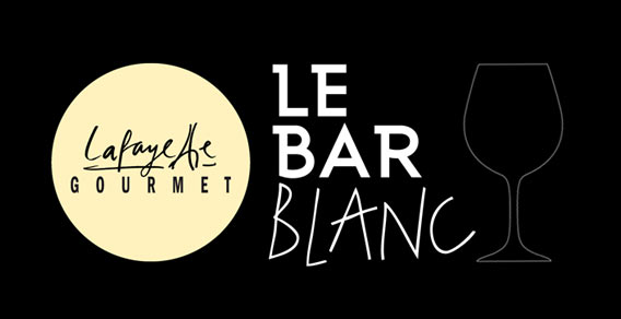 """""""Le Bar Blanc"""" - die Weißwein- und Champagnerbar im Lafayette Gourmet Berlin"""