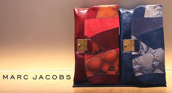 Taschen von Marc Jacobs bei Galeries Lafayette Berlin