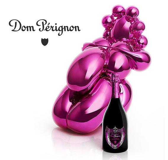 "Dom Perignon by Jeff Koons ""Balloon Venus""   Galeries Lafayette Berlin"