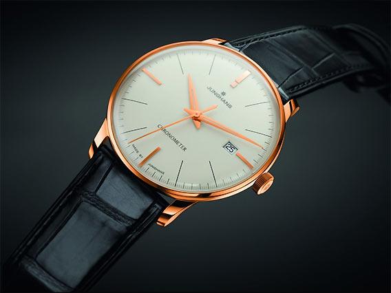 100% limitiert: Der JUNGHANS Meister Chronometer Gold | Galeries Lafayette Berlin
