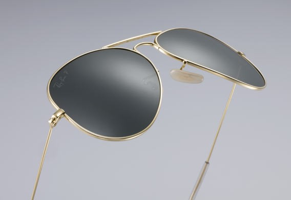Ray-Ban Aviator® Solid Gold Limited Edition | Galeries Lafayette Berlin