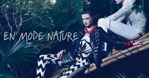 En mode nature – ab in den Dschungel!