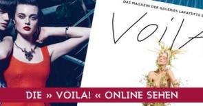 Neue Mode, neue Styles, neue Gaumenfreuden: die neue VOILA! ist da!