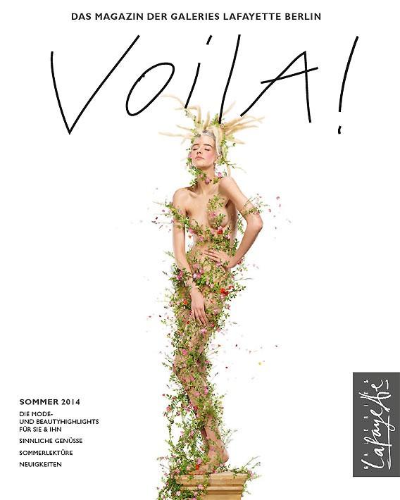 VOILA! Frühjahr/Sommer 2014 | Kundenmagazin | Galeries Lafayette Berlin | Cover: Jean-Paul Goude