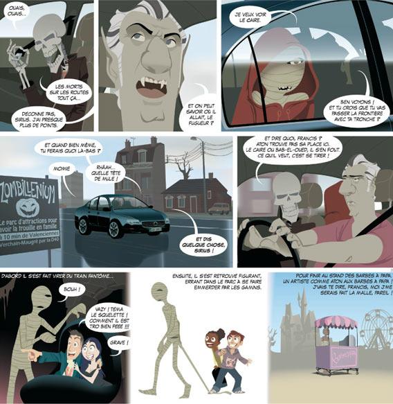 Zombillenium | Arthur de Pins | Comic | Librairie Francaise | Galeries Lafayette Berlin