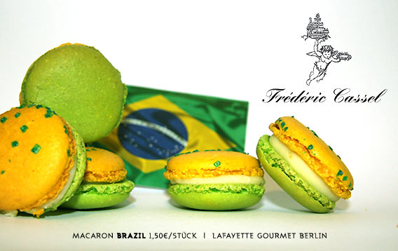 Macaron BRAZIL   Frédéric Cassel   Lafayette Gourmet Berlin