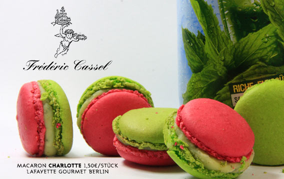 Macaron des Monats von Frédéric Cassel: CHARLOTTE | Galeries Lafayette Berlin
