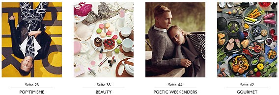 VOILA ! Herbst/Winter 14/15 | Kundenmagazin | Galeries Lafayette Berlin