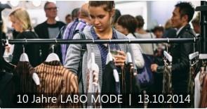 Newsletter: 10 Jahre LABO MODE