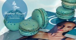 "Cassels blaue Macarons zum VOILA!-Launch: ""OCEAN DRIVE"" mit Vanillegeschmack"