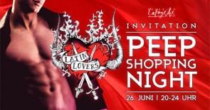 So war die Peep Shopping Nacht 2015