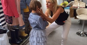 """Kids Photoshooting"" für die VOILA: Making-of-Fotos aufgetaucht!"