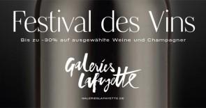 Festival des Vins – ausgewählte Weine zum Festivalpreis