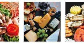 Köstliche Gourmet-Platten