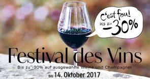 Festival des Vins | Herbst 2017