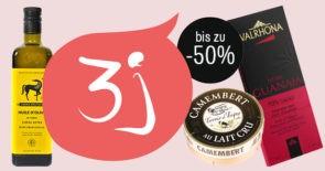 Bis zu -50% auf ausgewählte Gourmet-Produkte