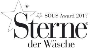 """Wir sind dabei: SOUS AWARD 2017 """"Sterne der Wäsche"""""""
