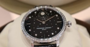 Limited Edition: Diamond Slimline Moonphase von Frederique Constant