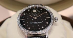 Limited Edition: Diamond Slimline Moonphase von Frederique Constant