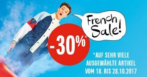 French Sale mit -30%