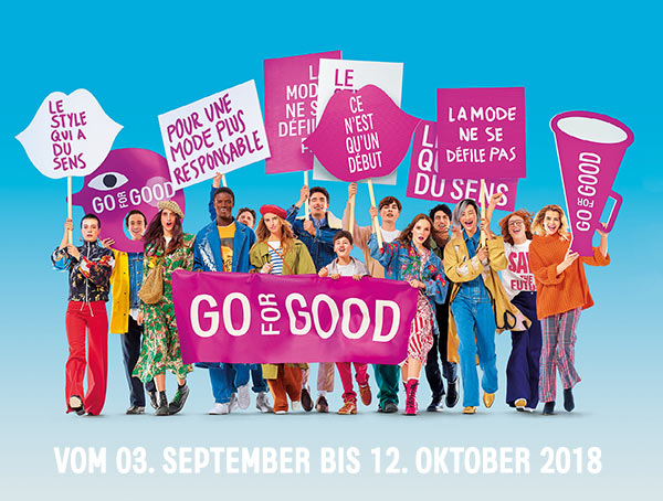 Go For Good in den Galeries Lafayette Berlin