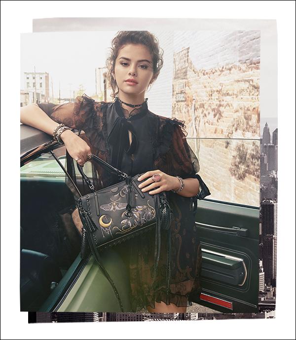Coach x Selena Gomez bei Galeries Lafayette Berlin | Taschen & Accessoires