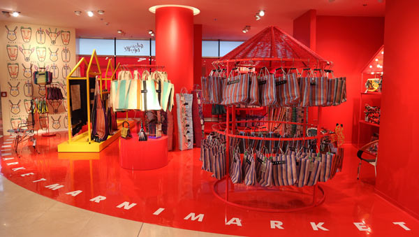 MARNI MARKET Accessoires | Pop Up Store | Galeries Lafayette Berlin