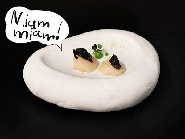Geräucherte Jakobsmuscheln | Gourmet | Galeries Lafayette Berlin