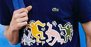 LACOSTE x KEITH HARING LIMITED EDITION