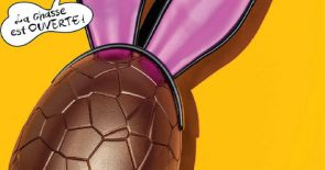 Schokolade zum Osterfest