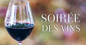 Soirée des vins – mit ausgewählten Weinen des Festival des Vins