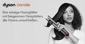Neu: der Dyson Corrale™ Haarglätter