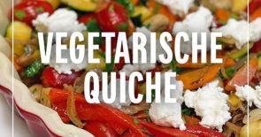 Rezept der Woche: Vegetarische Quiche