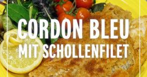 Rezept: Cordon Bleu mit Schollenfilet